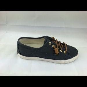 ❤️ Sperrys topsider navy boat shoes women's 7.5 M